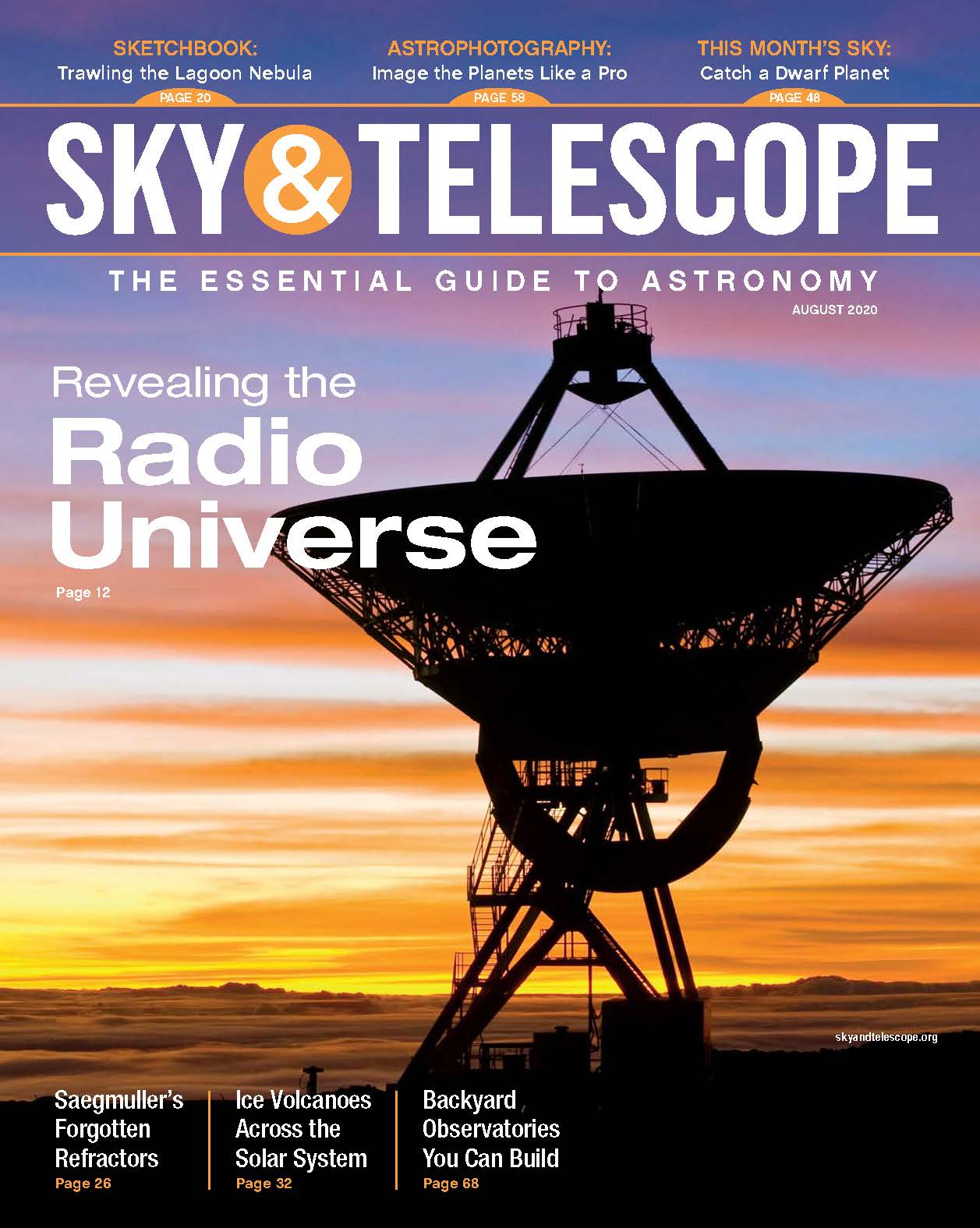 Sky & Telescope August 2020 Issue