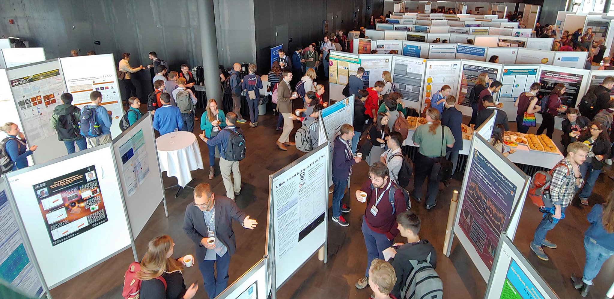 Poster session at the Extreme Solar Systems (ExSS) IV meeting in Reykjavik, Iceland, August 2019