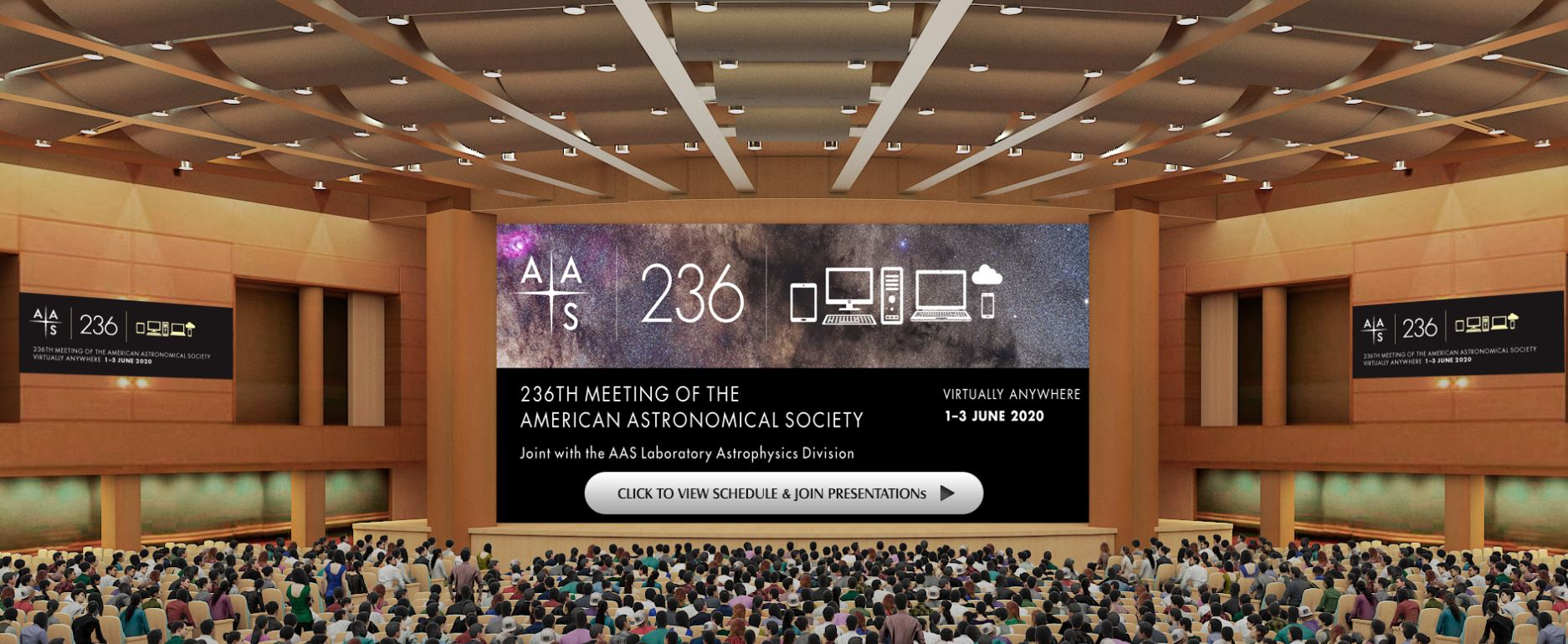 Example Virtual Meeting Auditorium