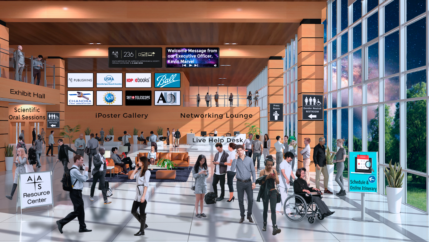 Virtual Meeting Lobby