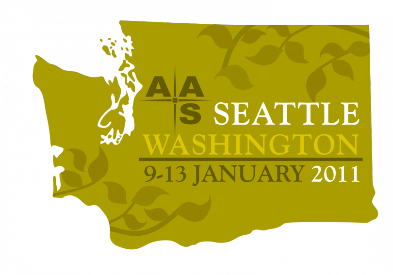 The 217th AAS meeting was held 9-13 January 2011 in Seattle, WA.