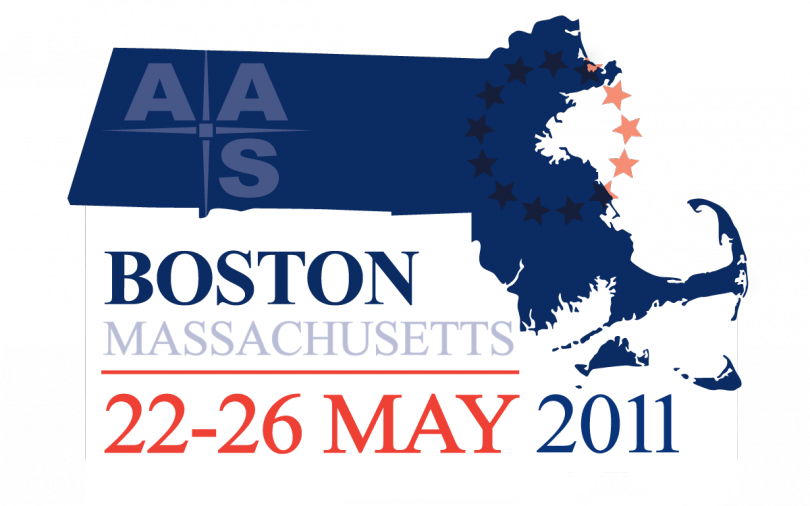 The 218th AAS meeting was held 22-26 May 2011 in Boston, MA.