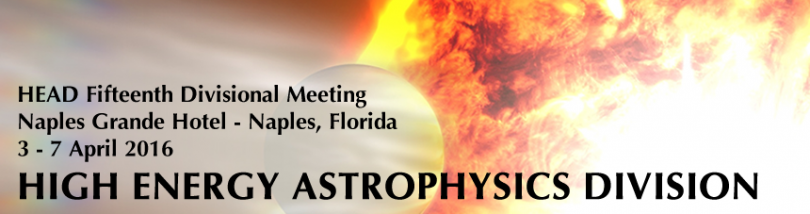 The 15th HEAD meeting was held 3-7 April 2016 in Naples, Florida.