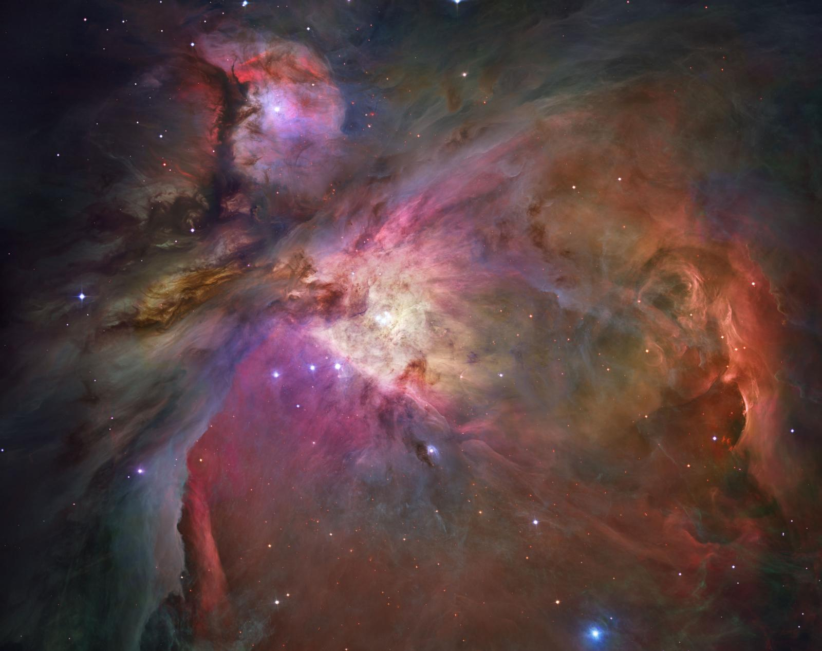 Hubble Space Telescope Image of the Orion Nebula