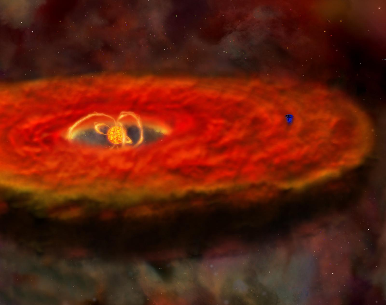 Turbulent Protoplanetary Disk